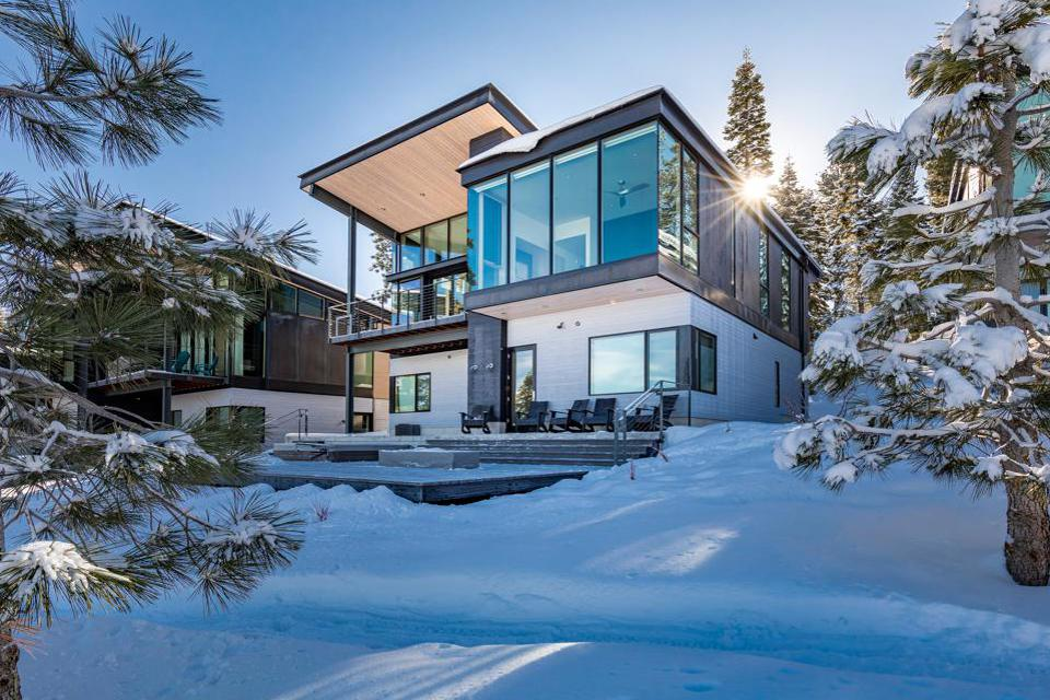 A contemporary home in Truckee's Northstar resort community.