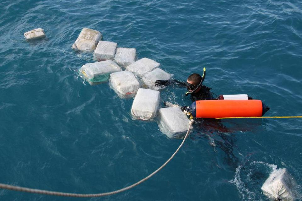 U.S. Coast Guard Interdicts Drug-Carrying Submersible In Caribbean