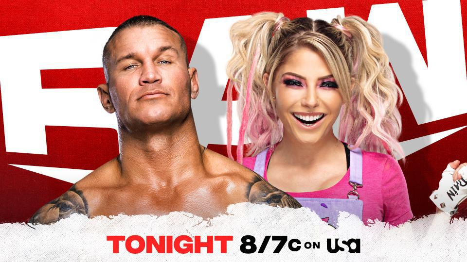 Randy Orton was burned with a fireball by Alexa Bliss last week.