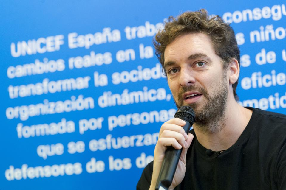 Pau Gasol and UNICEF Press Conference