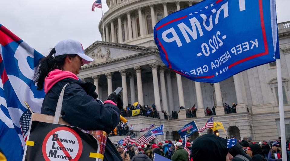 US-POLITICS-UNREST attack on the US Capitol