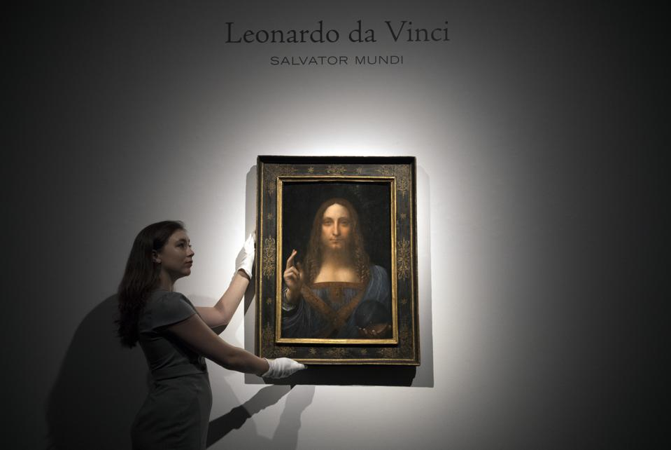 Christie's preview Leonardo Da Vinci's Salvator Mundi before the auction