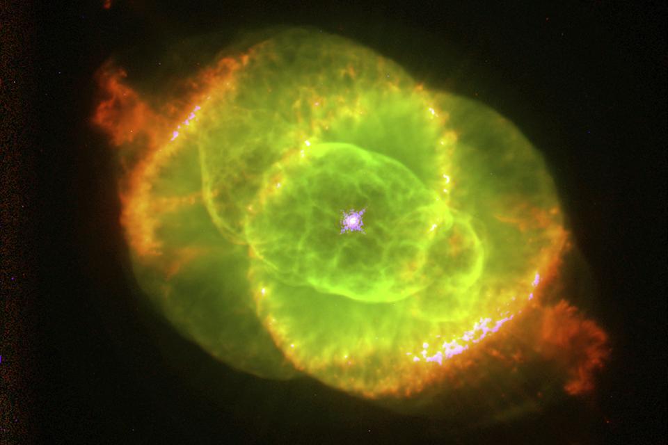 The Cats Eye Nebula, 1994.