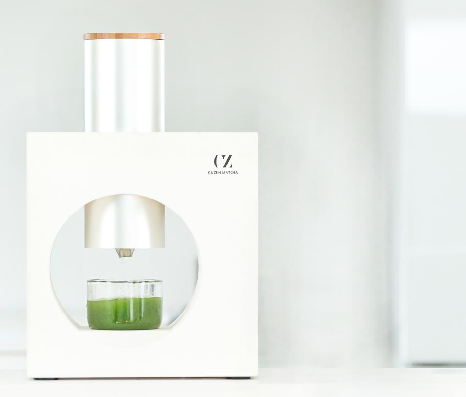 Cuzen Matcha Maker TIME Best Inventions of 2020 Eijiro Tsukada ceremonial green tea drink