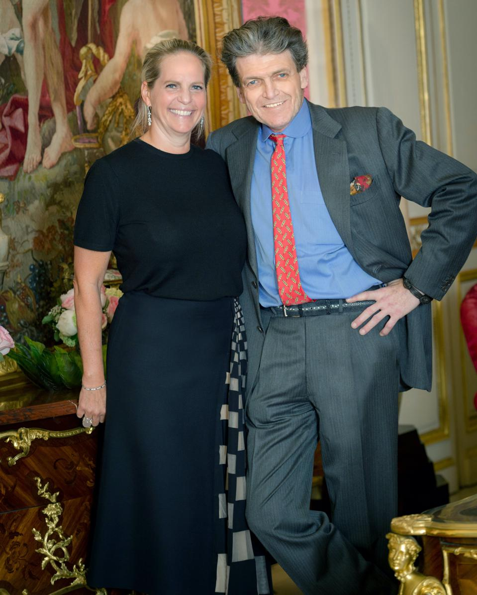 Benjamin de Rothschild and wife Ariane