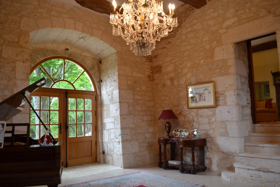 france stone castle entry updated with contemporary design