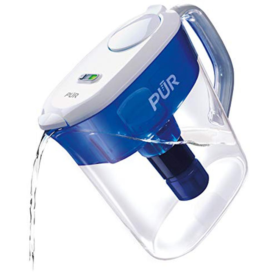 PUR PPT111W Ultimate Filtration Water Filter Pitcher, 11 Cup