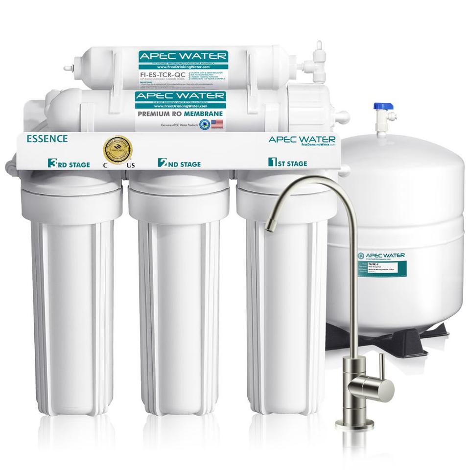 APEC Water Systems Essence 5-Stage Under-Sink Reverse Osmosis Water Filter System
