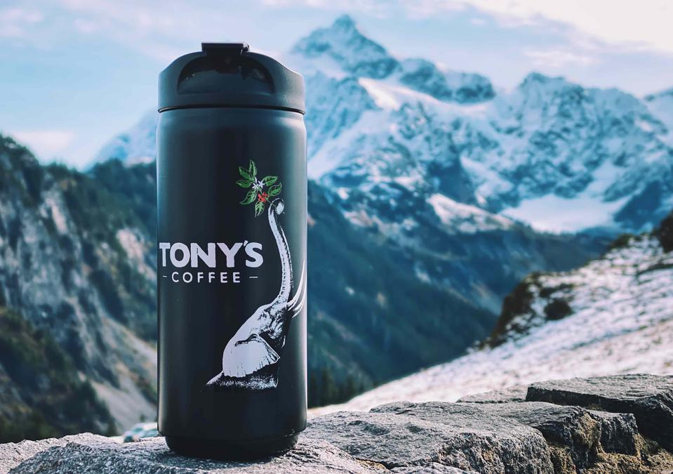Tony's Coffee is located in Bellingham, Wash.