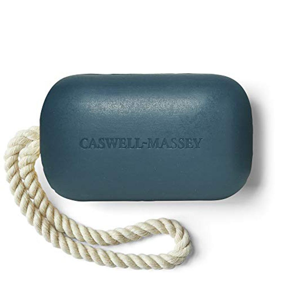 Caswell-Massey Triple Milled Luxury Bath Soap Newport Soap On A Rope