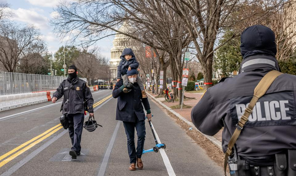 DC Under Lockdown Ahead of Inauguration