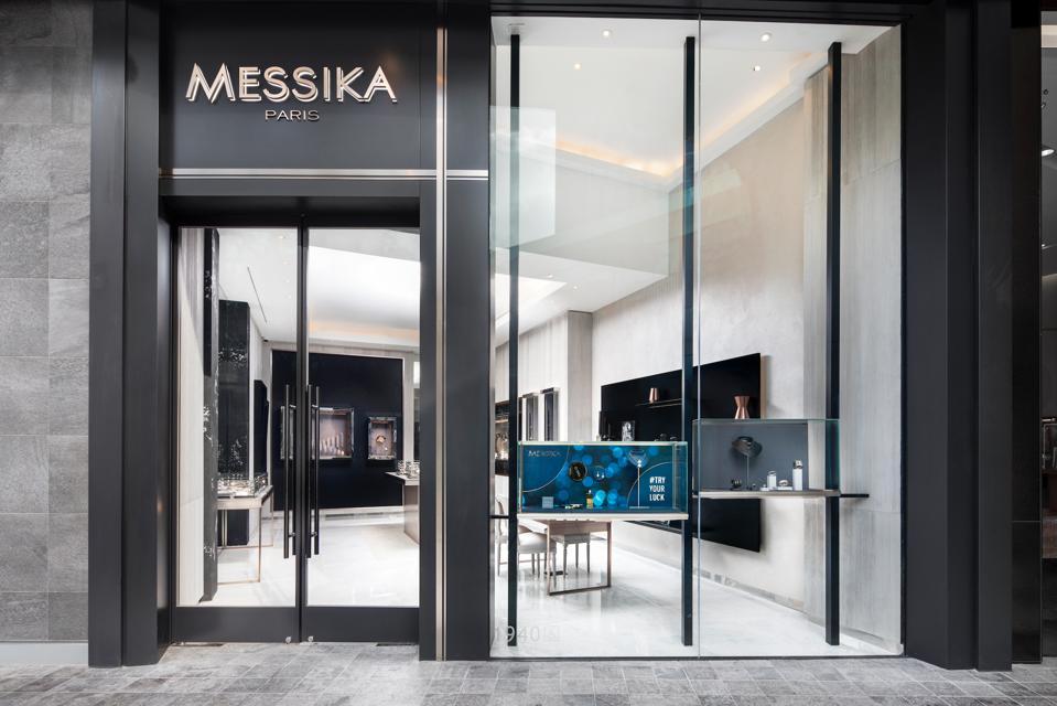Facade of Messika Paris store in Los Angeles