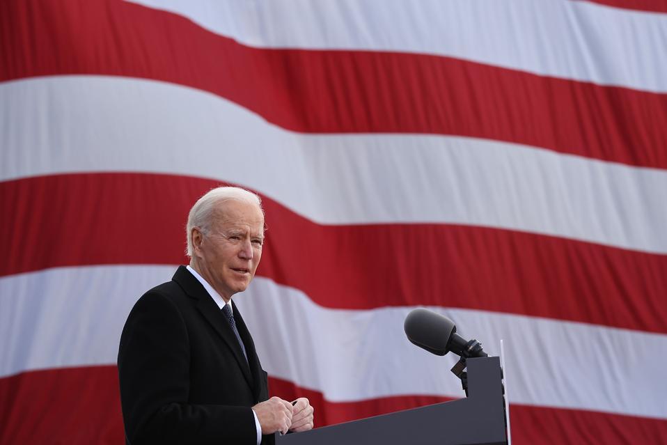 President-Elect Joe Biden Speaks At The Major Joseph R. ″Beau″ Biden III National Guard Reserve Center In Wilmington, Delaware