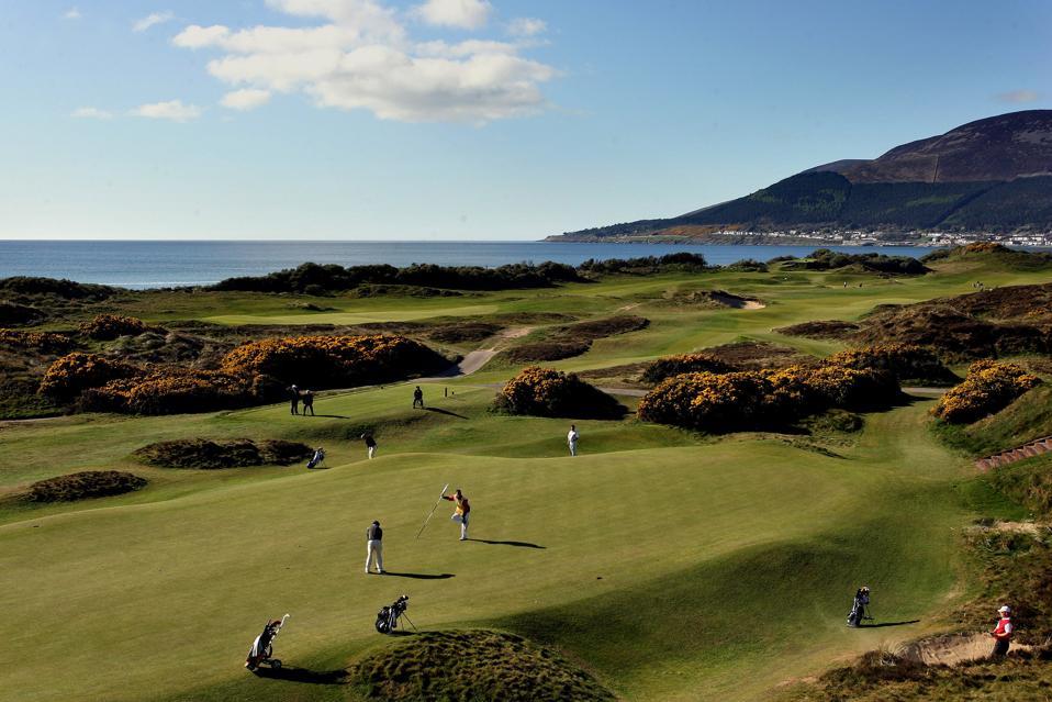 Royal County Down Golf Club in Northern Ireland.