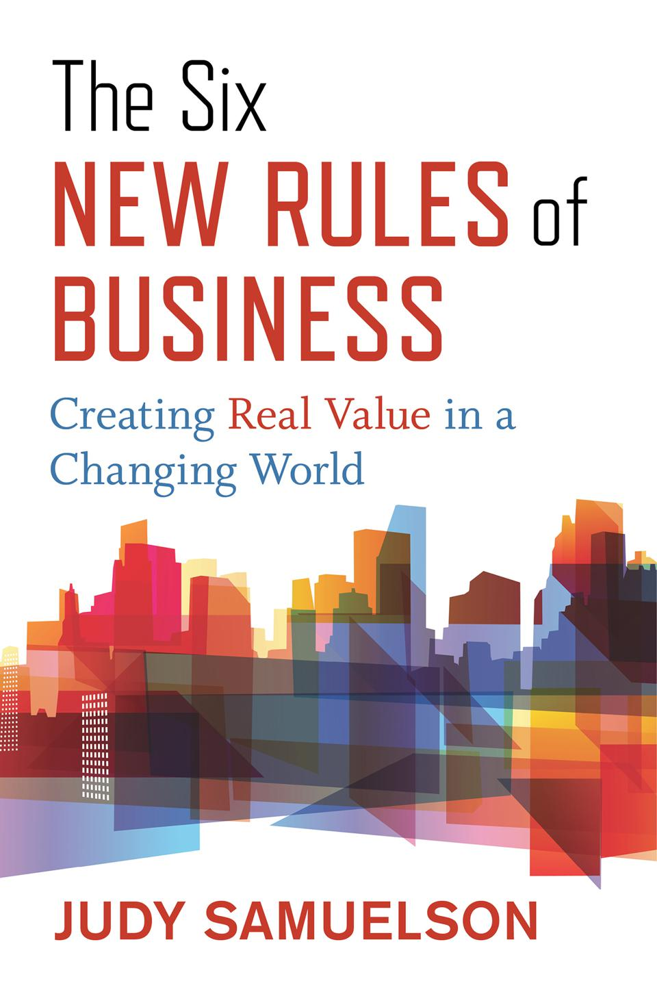 The Six New Rules of Business Book Cover