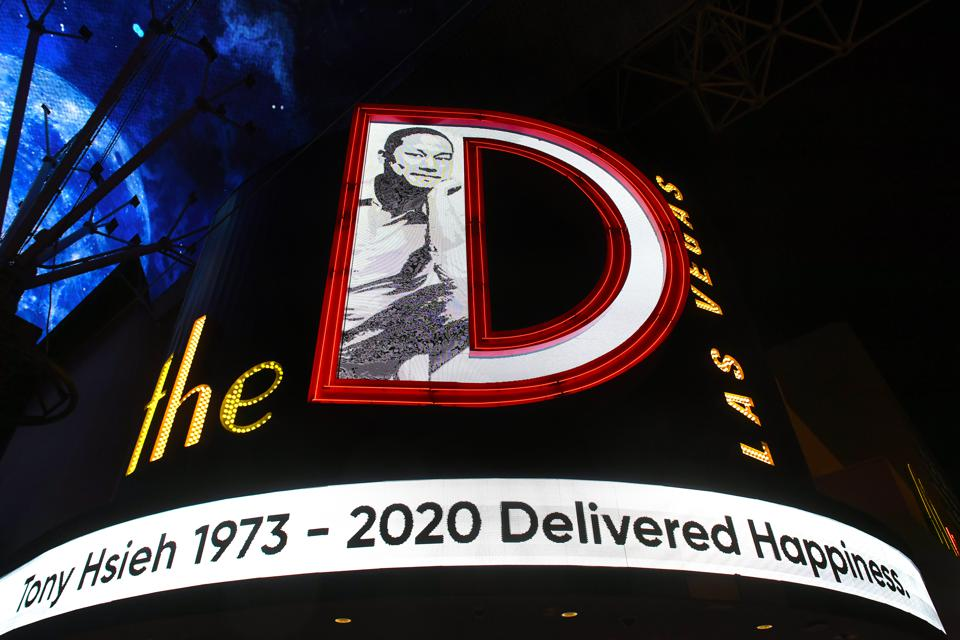 Las Vegas Remembers Tech Entrepreneur Tony Hsieh