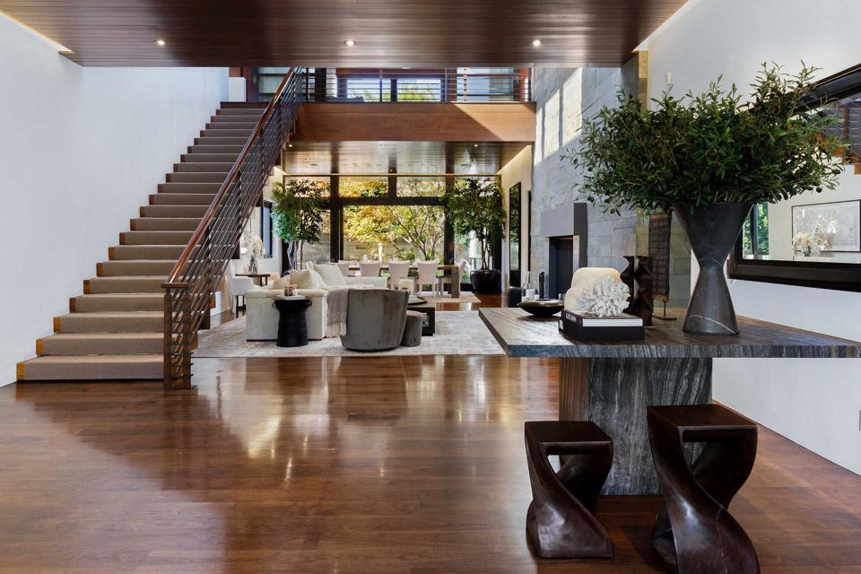 Atrium in luxury home