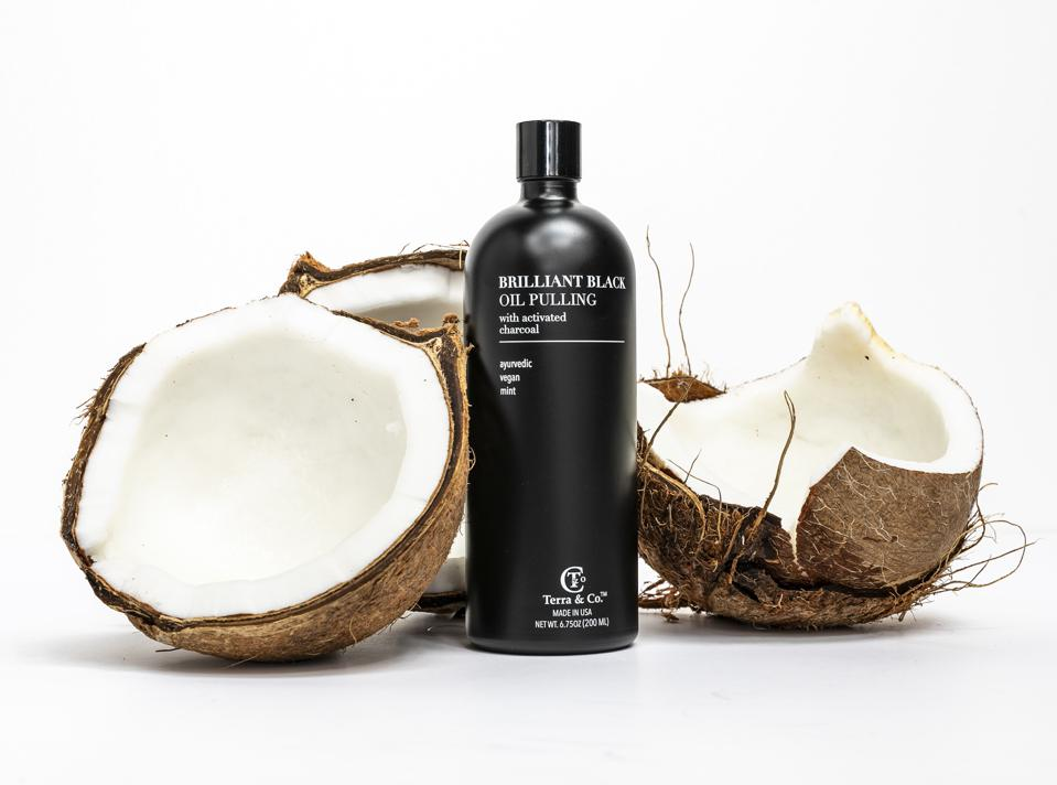 Brilliant Black Oil Pulling from Terra & Co
