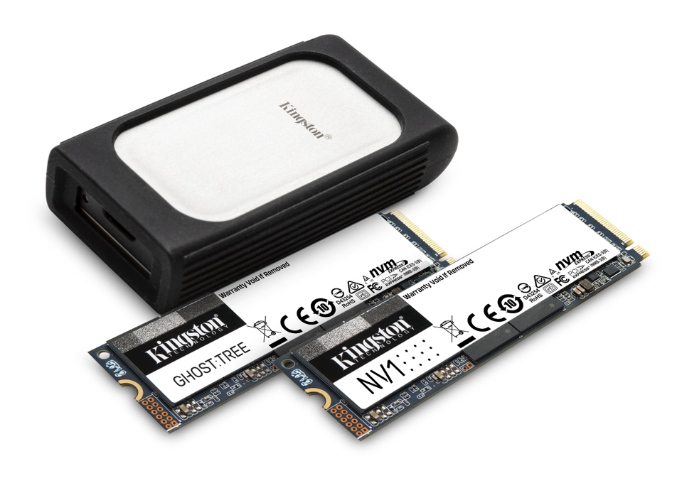 KIngstron M.2 and External SSDs