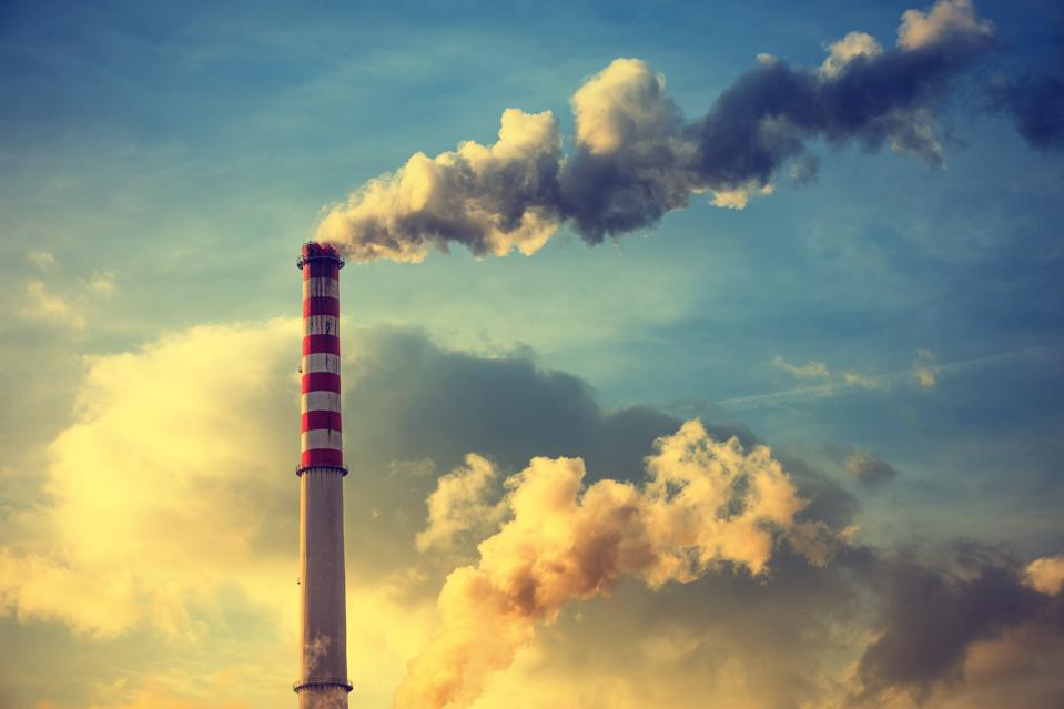 Air Pollution, Emissions, Carbon Dioxide, CO2, Coal-fired Power Plant