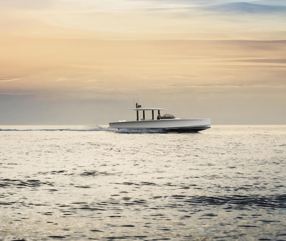 Nautor's Swan new 60MPH powerboat Shadow.