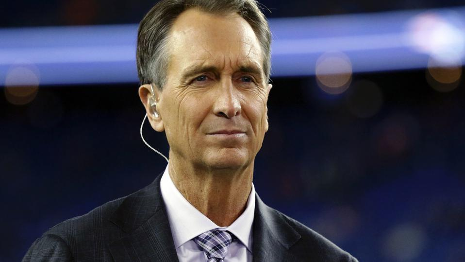 NFL sports broadcaster, Cris Collinsworth.