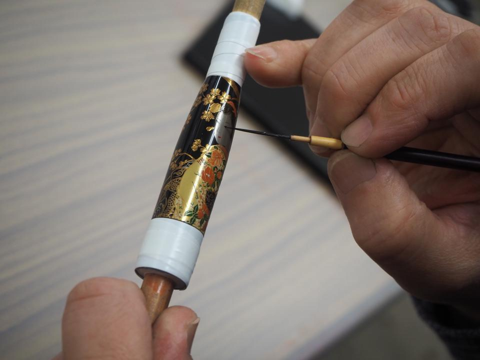 Meisterstück Maki-e Calligraphy Tribute to Kyoto Fine Craftsmanship Limited Edition 88.