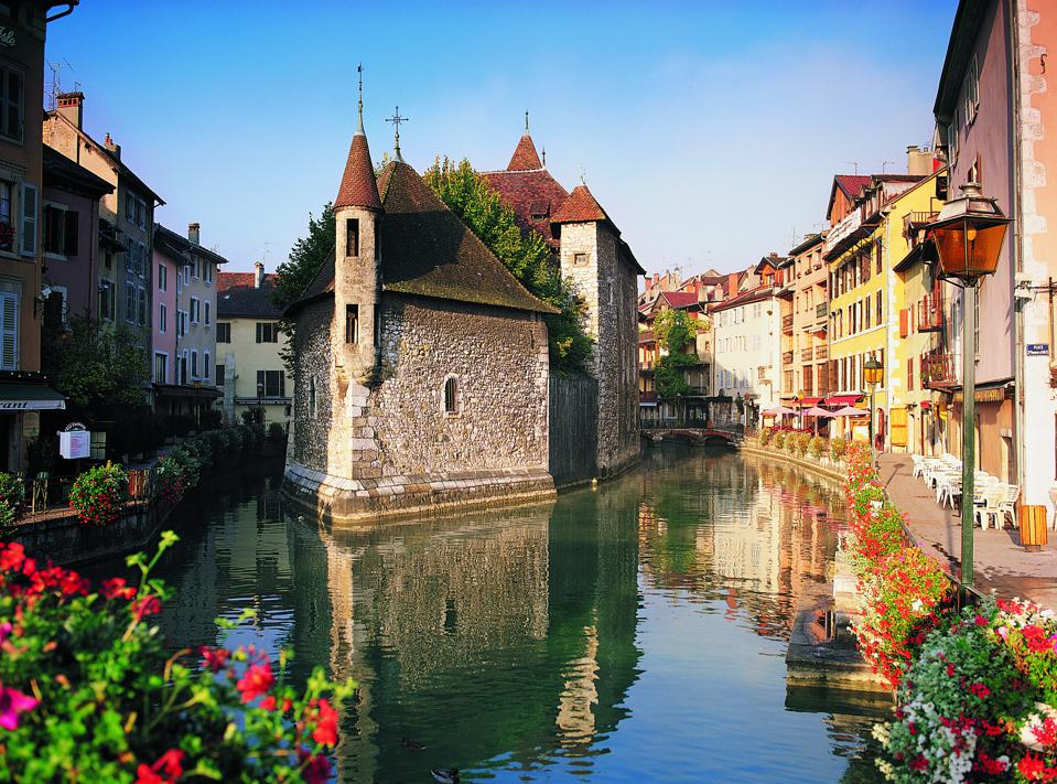 City of Annecy, Savoie, France