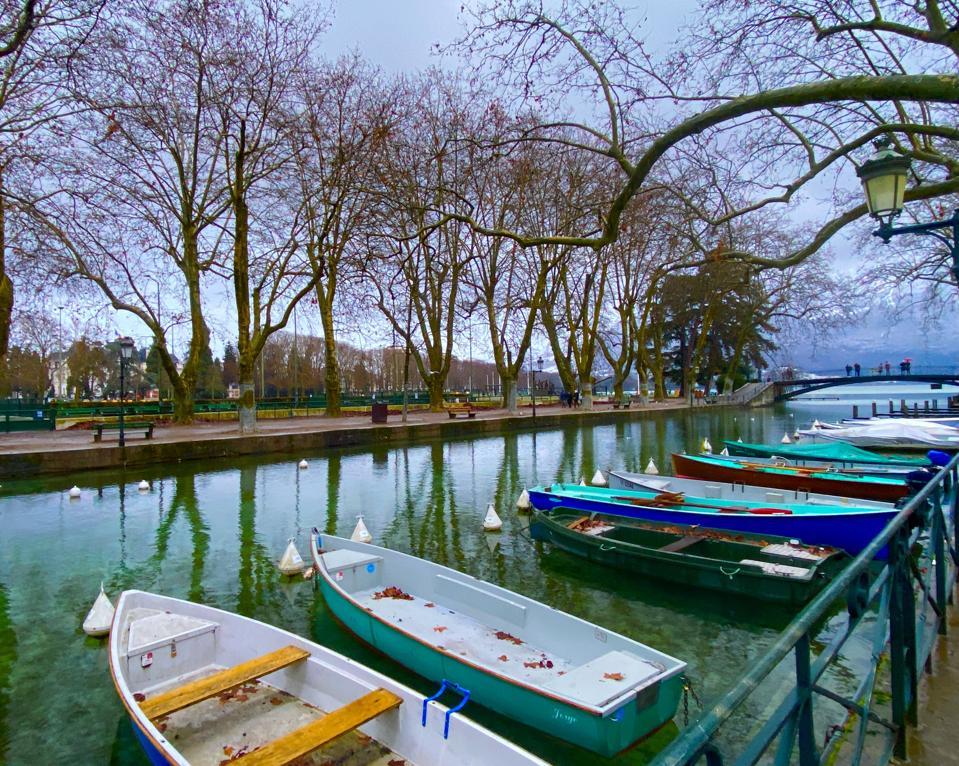 Canal du Vassé, Annecy, France