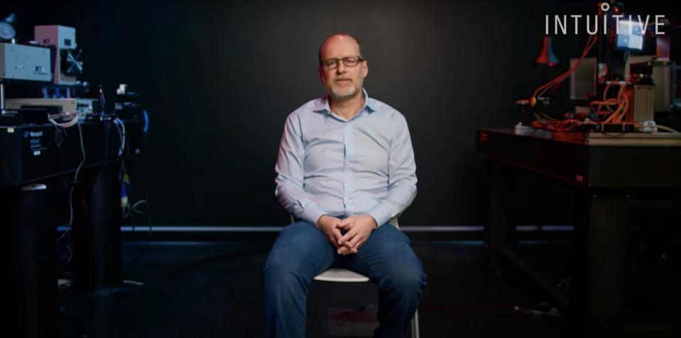 Ted Rogers, VP Imaging Advanced Development and subject of Intuitive's Brand Film