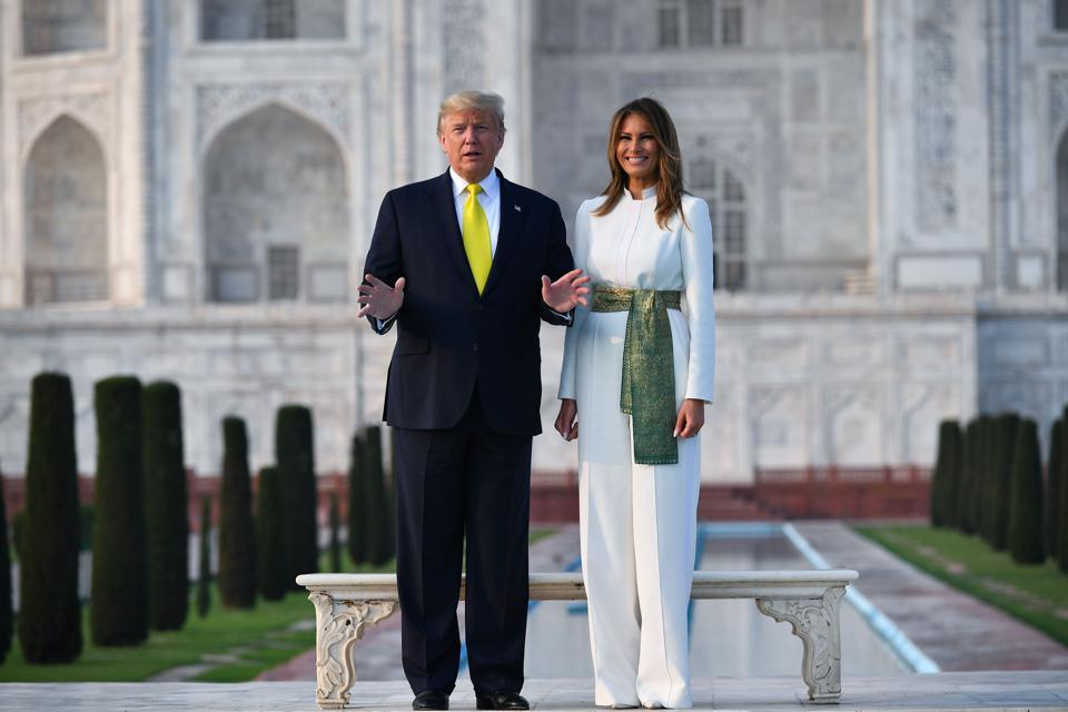 TOPSHOT-INDIA-US-DIPLOMACY-TRUMP