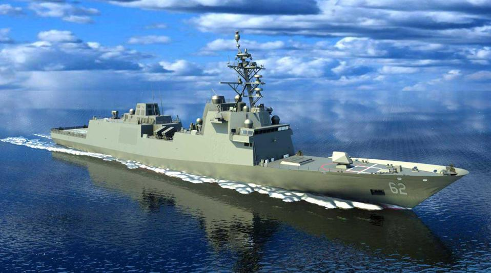 If the Freedom class is halted, the new Fincantieri-built Constellation class frigate may benefit.