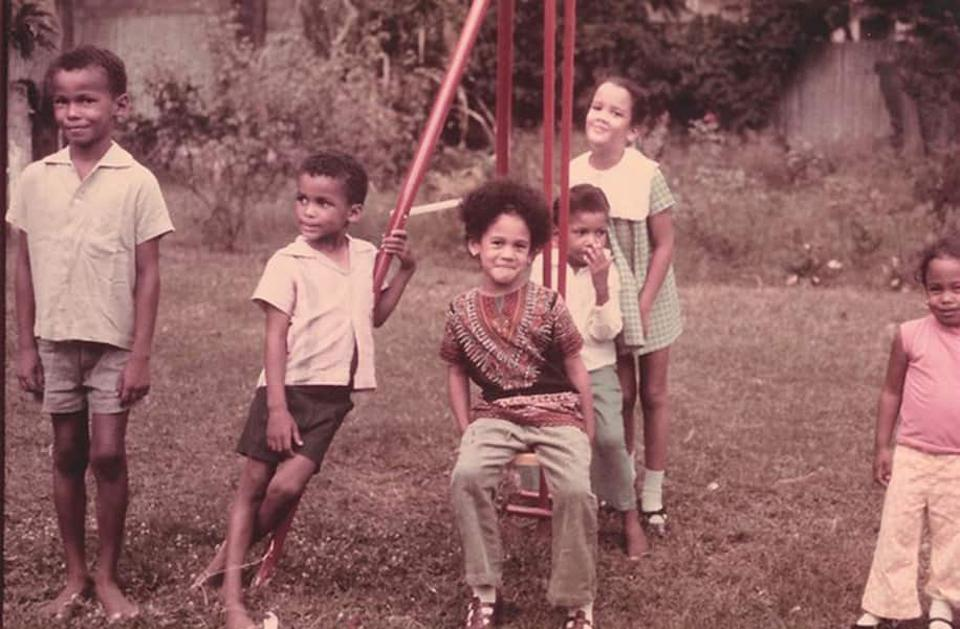 Kamala Harris visited cousins in Jamaica as a child.