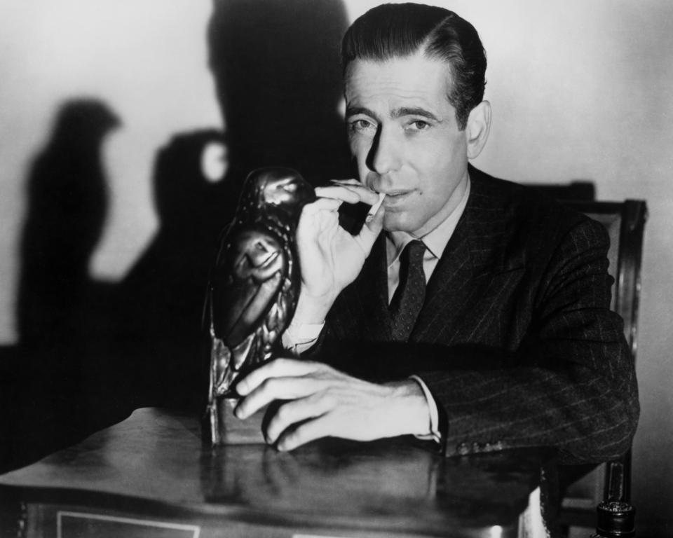 Humphrey Bogart, The Maltese Falcon, John Huston, Danny Huston, interview, TCM, film noir