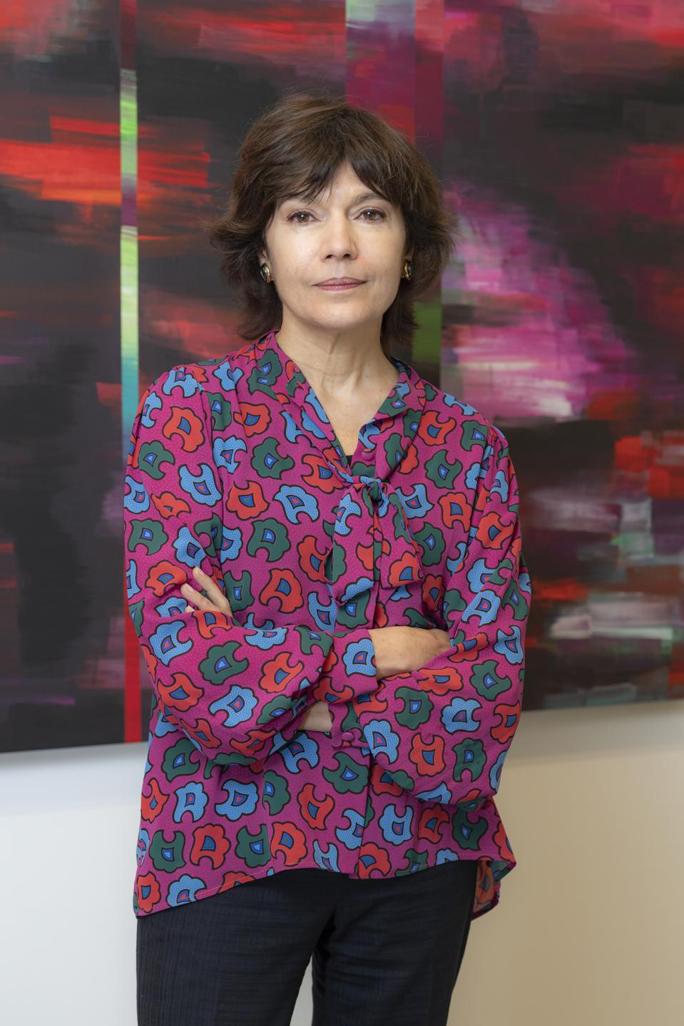 French gallerist Nathalie Obadia
