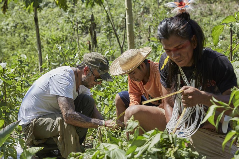 Francisco and the Yawanawa Tribe