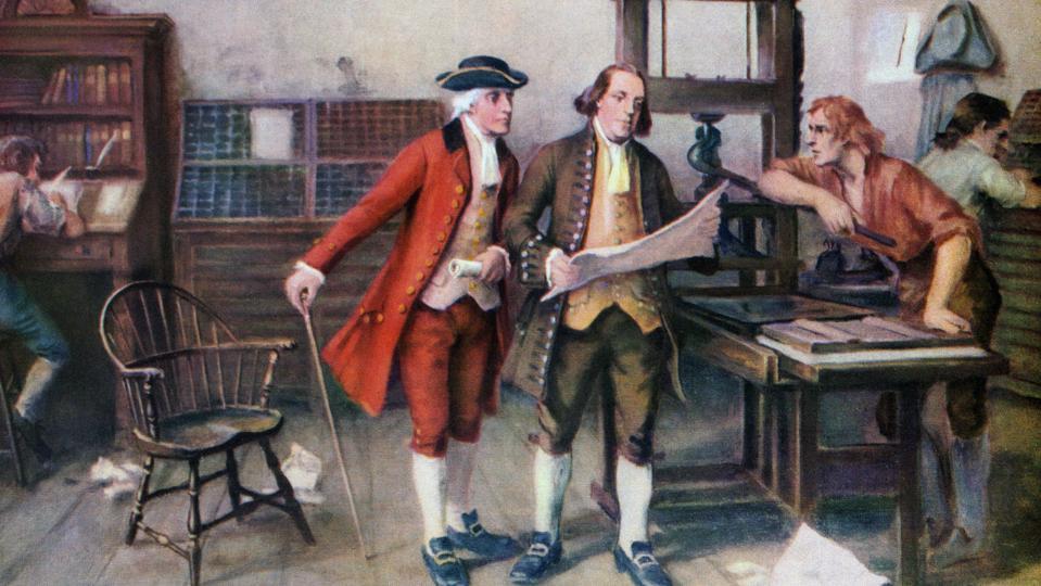 Benjamin Franklin Print Press
