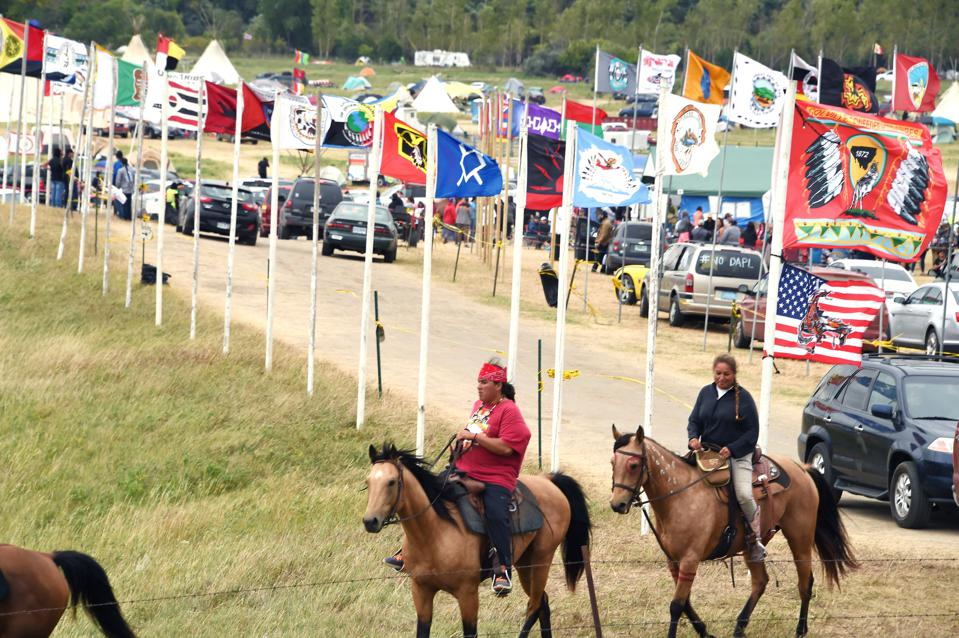 Native American Protests Against A Pipeline Highlight Environmental Inequality