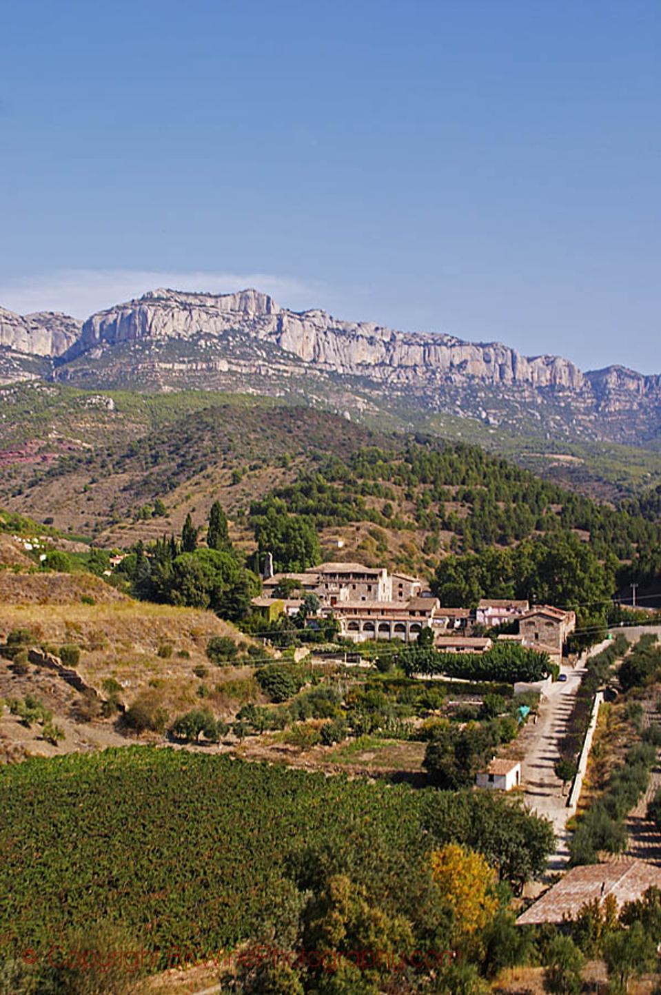 Scala Dei village and monastery, Priorato, Catalonia, Spain