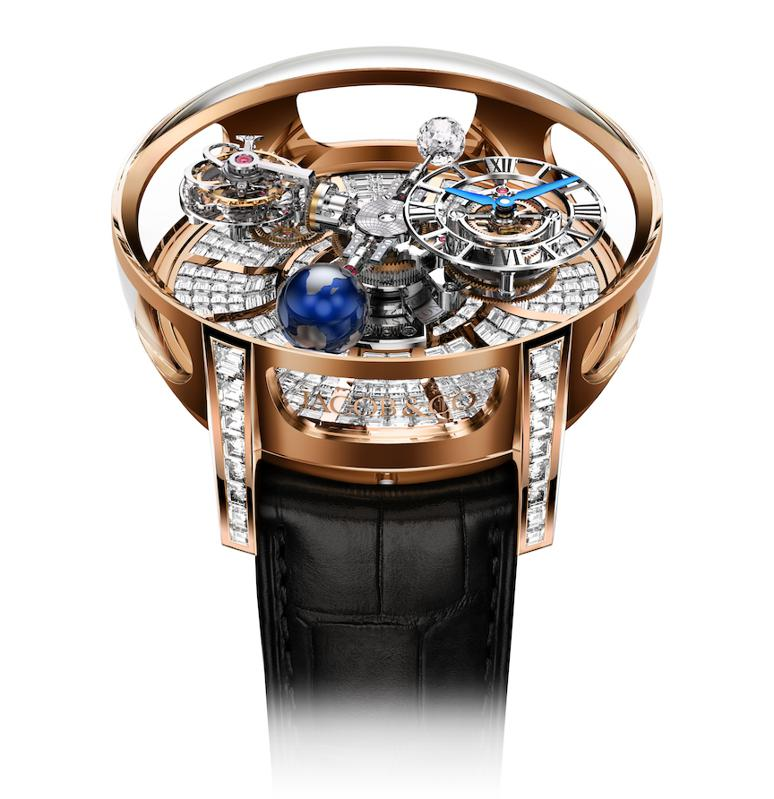 Conor McGregor,  Jacob & Co. Astronomia Tourbillon Baguette watch