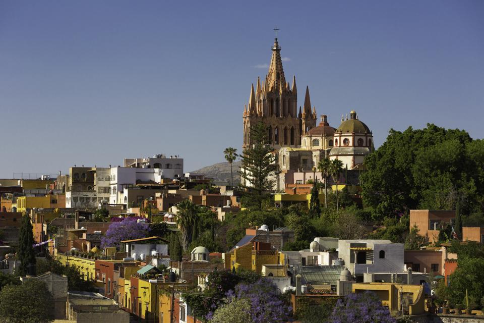 Colonial city of San Miguel de Allende, Mexico