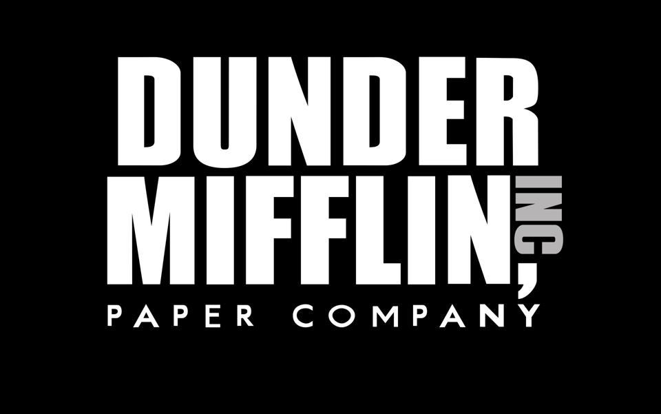 'The Office' is set at the fictional Dunder Mifflin Paper Company.