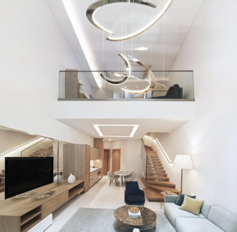 Mondrian suite at SLS Hotels