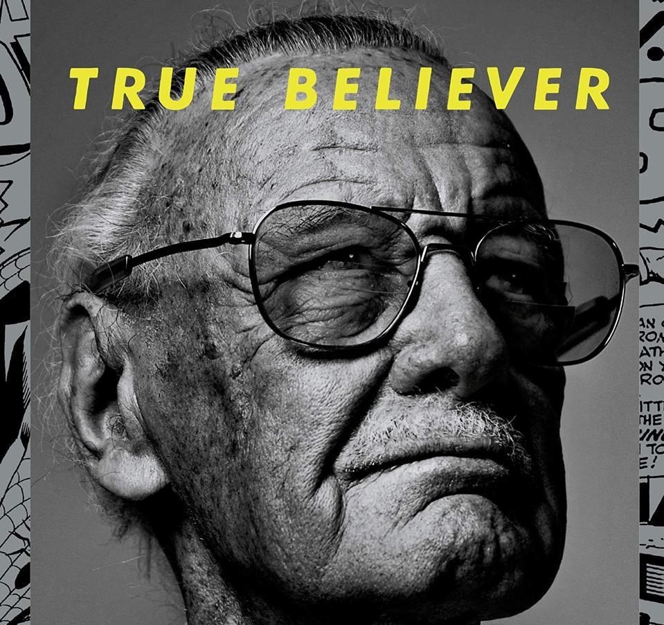 True Believer Stan Lee book cover Abraham Riesman PenguinRandomHouse