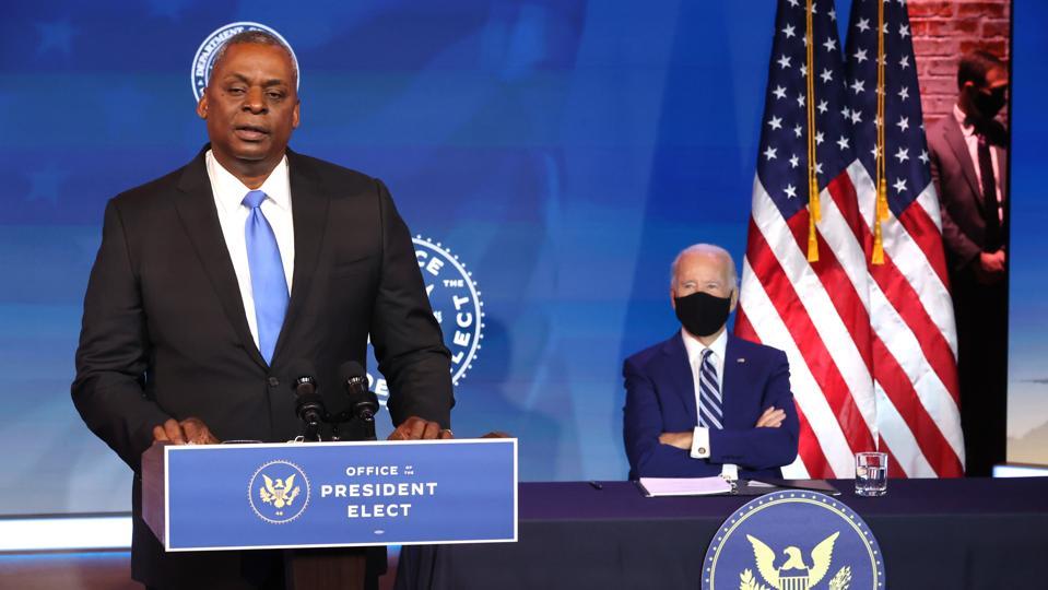 President-Elect Biden Introduces Nominee For Secretary Of Defense General Lloyd Austin