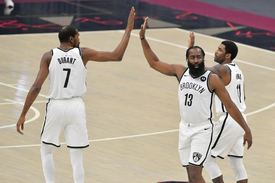 James Harden, Kevin Durant, Kyrie Irving