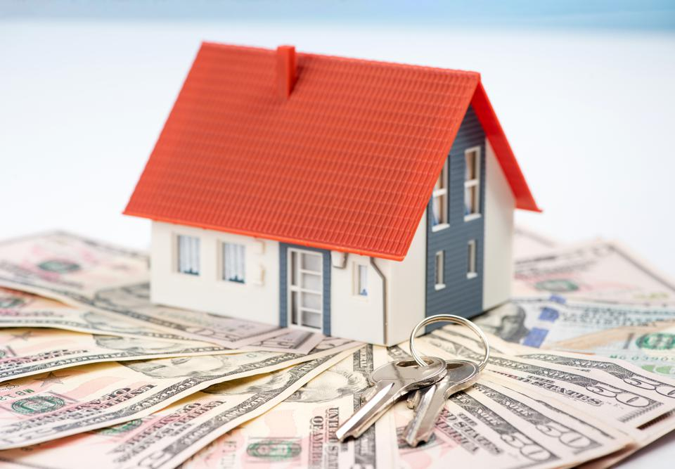 The model house is above dollars. The concept of home ownership