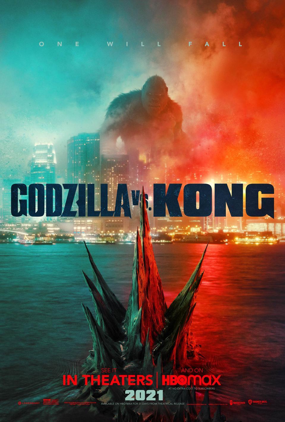 'Godzilla Vs. Kong' poster