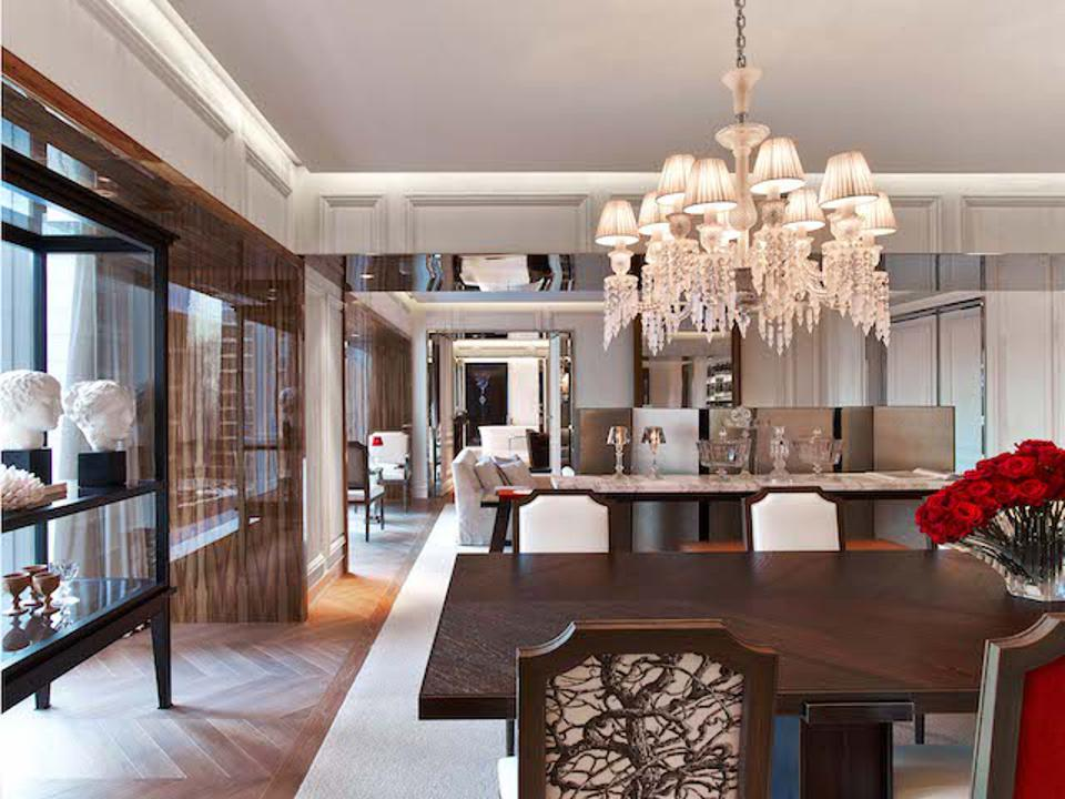 Suite at the Baccarat Hotel New York