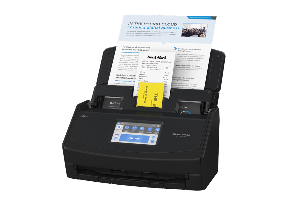 The new iX1600 scanner
